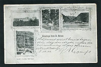 St Helena - Very Early Multiview p/u 1901