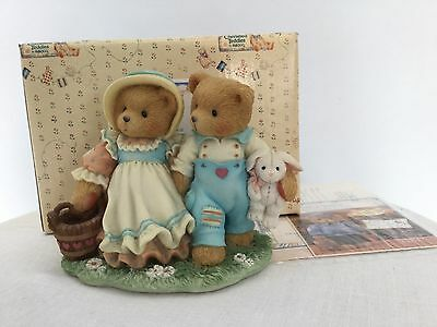 Cherished Teddies Jack And Jill Figurine 'Our Friendship Will Never Tumble'