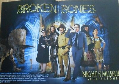 Night at the Museum 3  Secret of the Tomb A5 activity book - Robin Williams