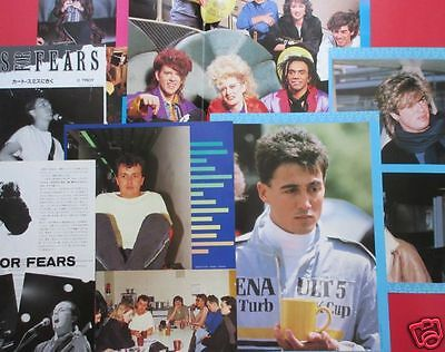 Wham! Andrew Ridgeley Tears For Fears Thompson Twins 1985 Clippings Ir 8A 13Page