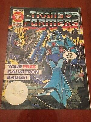 Marvel UK Transformers G1 Issue Number 98 January 1987