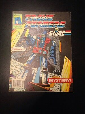 Marvel UK Transformers G1 Issue Number 269 May 1990