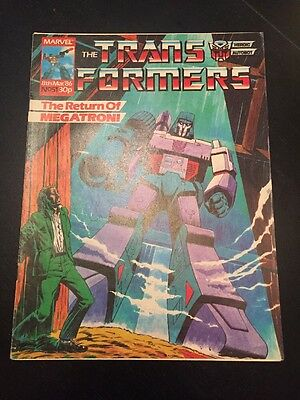 Marvel UK Transformers G1 Issue Number 51 March 1986
