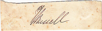 Prime Minister Lord John Russell Autograph