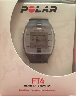 polar ft4 Heart Rate Monitor Brand New Grey