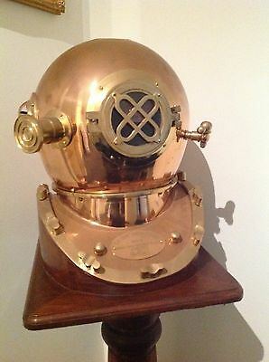 Reproduction Morse Diving Helmet - Large