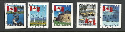 Canada 2005 - Flags over Scenes (51c) - Set - used