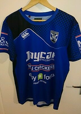 Canterbury Bulldogs training jersey.  xl