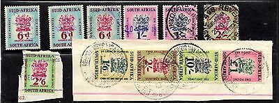 South Africa-Collection Revenue issues to £1 inc 1/6 & 10/-