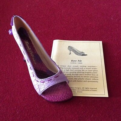 Just The Right Shoe By Raine - Beverly Feldman Bow Me (25332)
