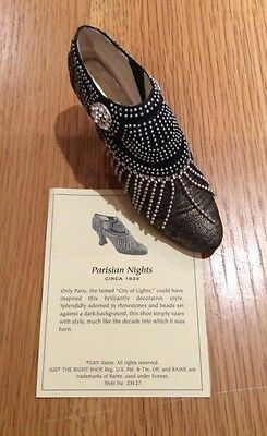 Just The Right Shoe By Raine - Parisian Nights (25127)