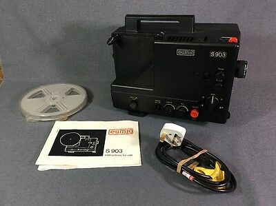 Eumig S 903 Super 8mm SOUND Cine Projector WORKING BOXED