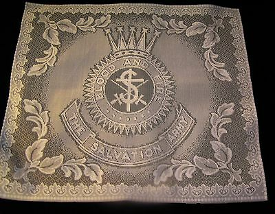Salvation Army - NOTTINGHAM ENGLISH LACE - CROWN CREST