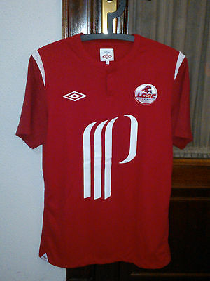 Official LOSC LILLE home shirt used in 2010/11 season