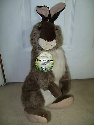 Vintage Chad Valley Watership Down Rabbit,blackberry With Original Tag 1978