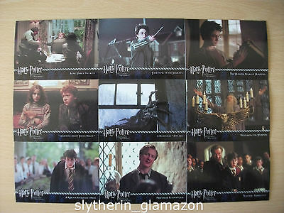 Lot of 9 Harry Potter and The Prisoner Of Azkaban Trading Cards movie