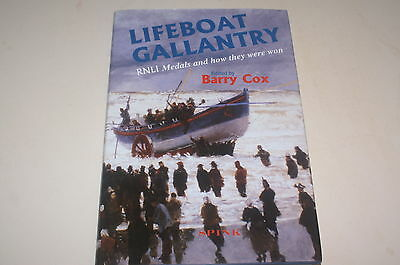 Lifeboat Gallantry Rnli Medals And How They Were Won Edited By Barry Cox