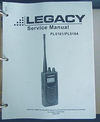Legacy FM Two-Way Radio Service Manuals Set/3