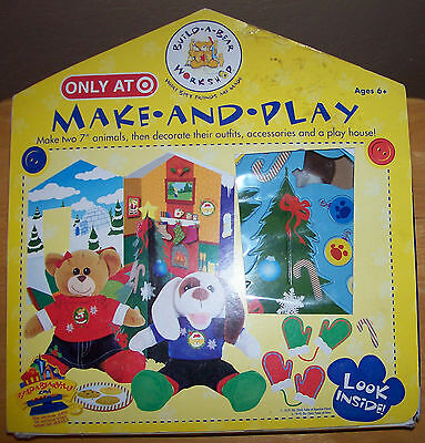Target Build A Bear Make & Play 2 animals clothes play house accessories