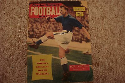 Charles Buchan's Football Monthly July 1956