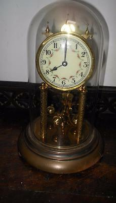 glass domed 400 day clock for restore