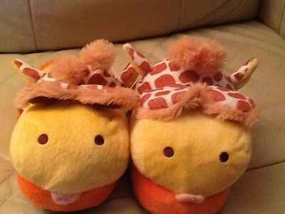 Magic movers animated giraffe slippers size medium toddler  gift
