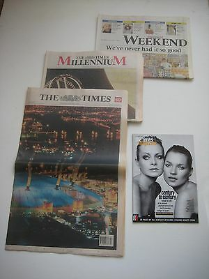 For The Person Who Has Everything - Full Set of 'The Times' - 1st January 2000