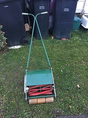 vintage push Cylinder  manual lawn mower Not Electric Not Petrol
