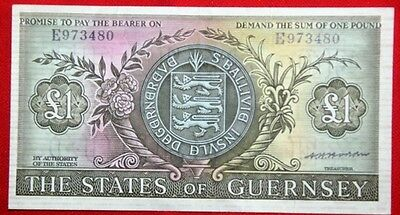 GUERNSEY - £1 x Used Banknotes