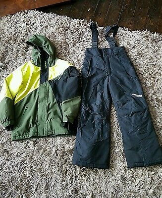 Boys ski suit age 6-7 years by Columbia