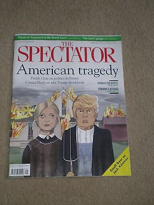 the spectator magazine 23 july 2016. american tragedy