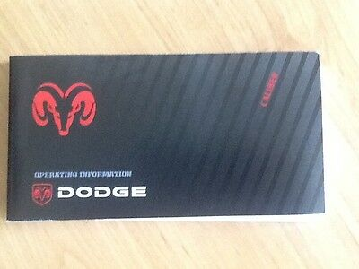 Dodge Caliber Book Pack And Wallet New