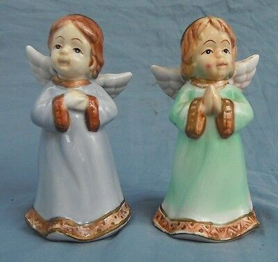 Angel Girls Salt and Pepper shakers Made in China