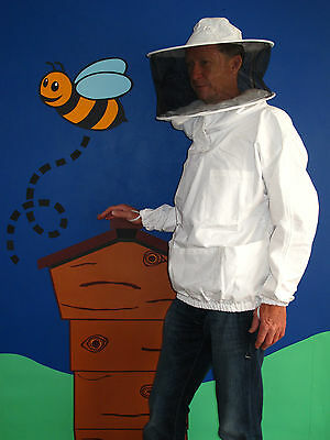 PREMIUM QUALITY Bee Smock, Round Hat Veil. All Sizes