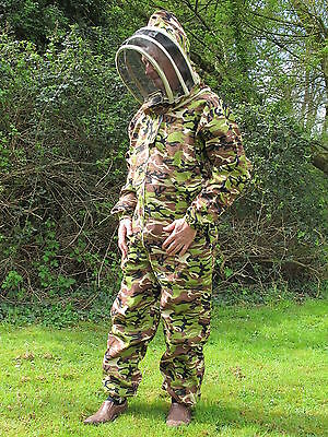 PREMIUM QUALITY Bee Suit Fencing Veil Style - Camo. All Sizes • EUR 41,45