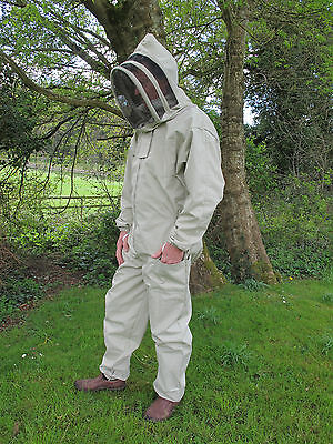 PREMIUM QUALITY Bee Suit Fencing Veil Style - Olive. All Sizes
