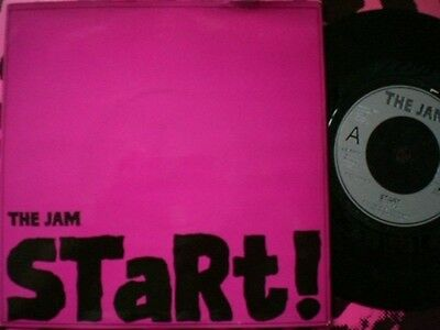 Punk - The Jam - Start - Picture Cover