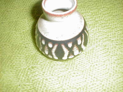 Small Brown Vase - Tenby Pottery Wales / Welsh