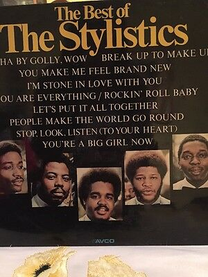 Very Best Of The Stylistics Vinyl LP