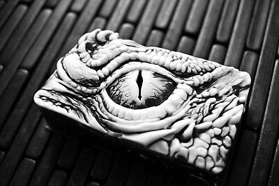 Dragon Eye Soap - Dinosaur Eye Soap - Monster Eye - Handmade Black & White Soap