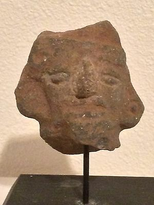 Mayan Aztec Native Mexican/South American Stone Head Carving Art