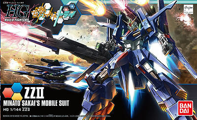 Bandai Hgbf Gundam Zz Ii High Grade  1/100 Plastic Model Kit Gunpla