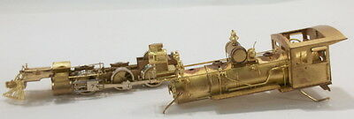 HOn3 BRASS KEY IMPORTS COLORADO & SOUTHERN 2-6-0 MOGUL #22-REPAIR NEEDED-AS IS