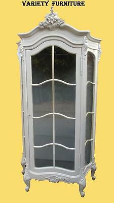 French Louis Xv Rococo Display Cabinet Armoire • £575.00