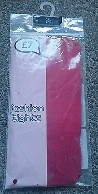 bnwt girls sparkly tights 3-4 years