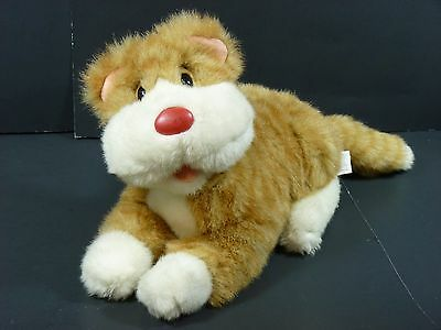 Vintage 1995 Big Comfy Couch SNICKLEFRITZ 12'' Plush Stuffed Cat Soft Toy