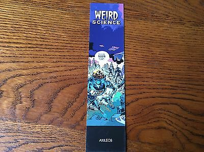 Marque page Weird Science Akileos
