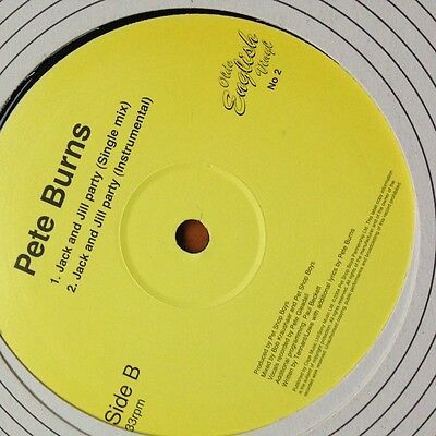 """PETE BURNS 12"""" RARE Jack and Jill Party Produced by PET SHOP BOYS - MINT"""