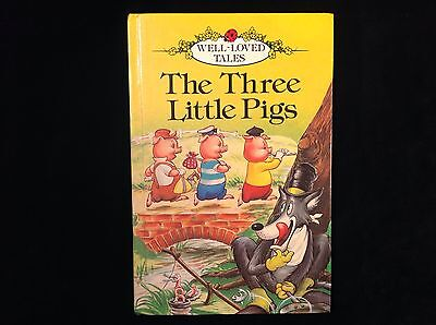 Vintage Ladybird 606D The Three Little Pigs Well Loved Tales