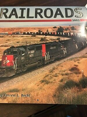 2002 RAILROADS CALENDAR (16 month edition)